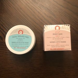 First Aid Beauty Bouncy Mask & Radiance Pads
